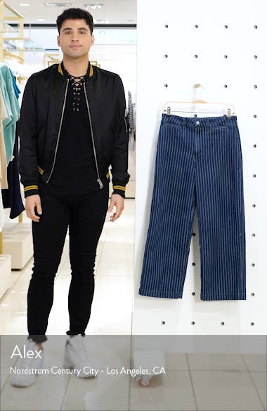 The High Waist Crop Trouser Jeans, sales video thumbnail