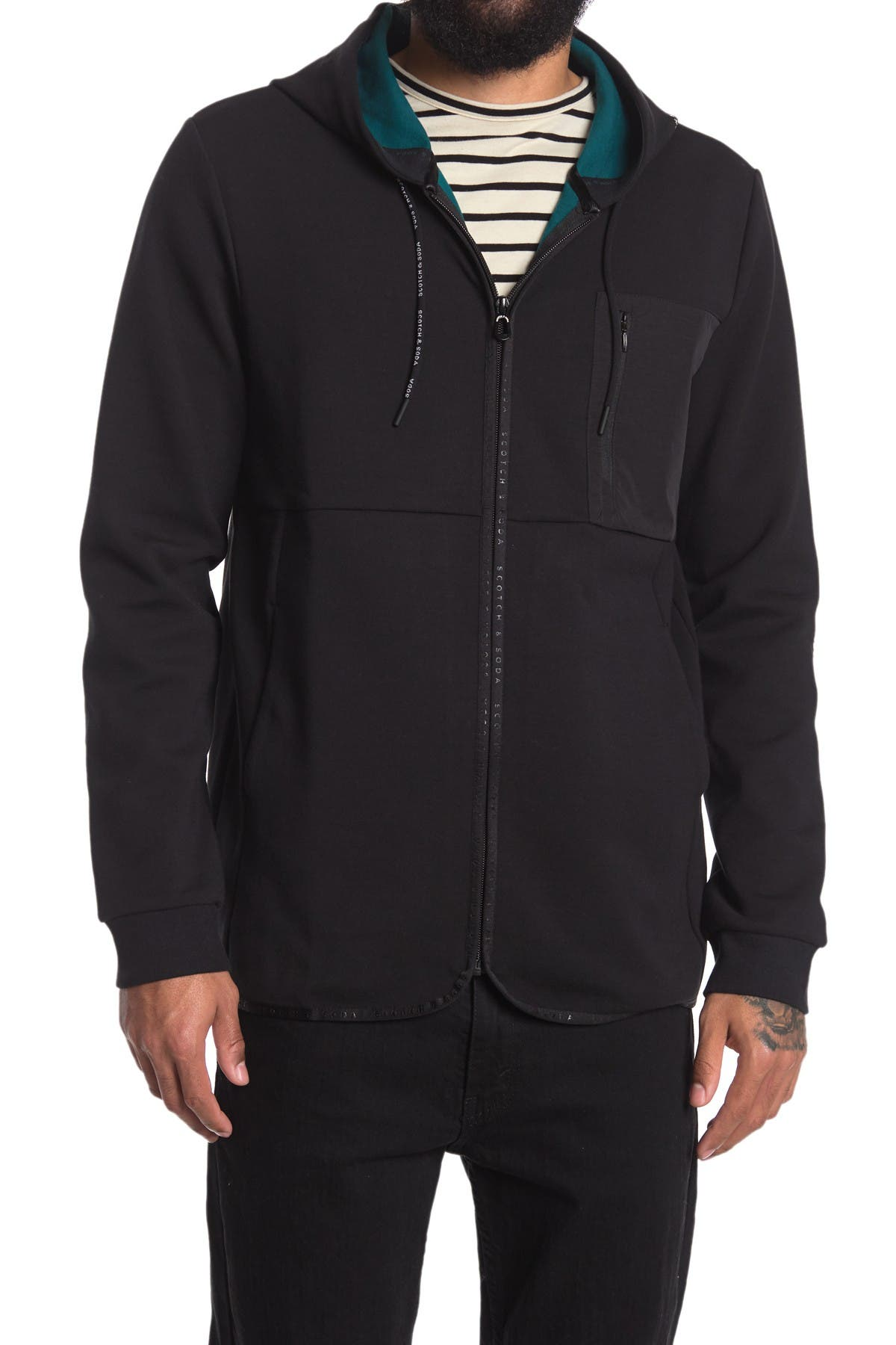 Image of Scotch & Soda Club Nomade Hooded Jacket