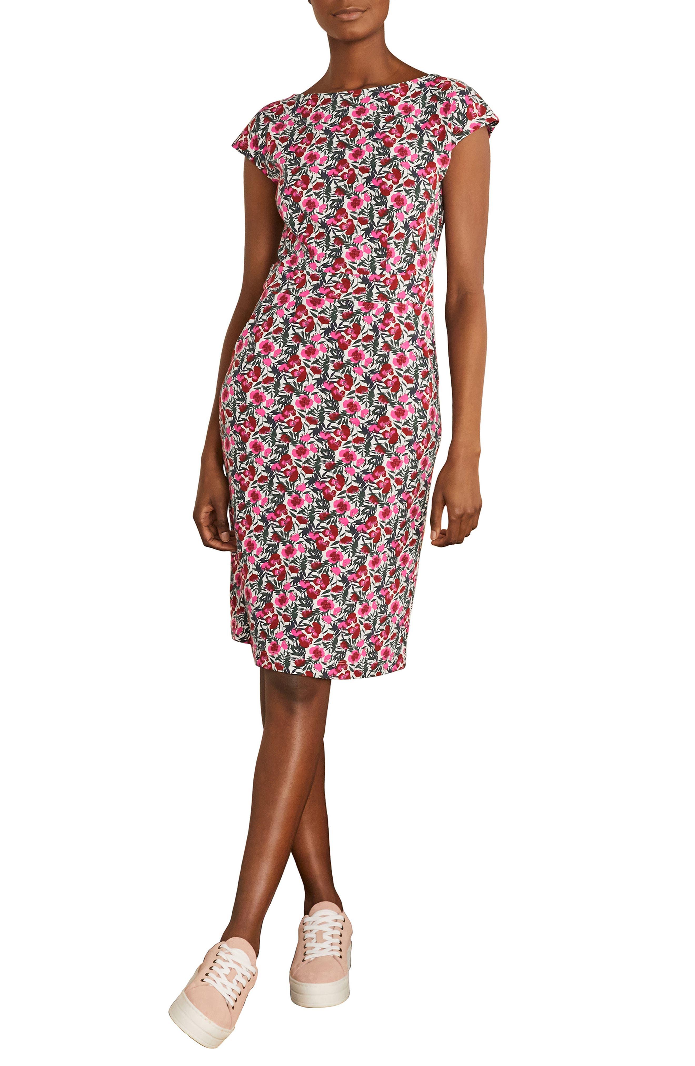 Florrie Floral Jersey Dress