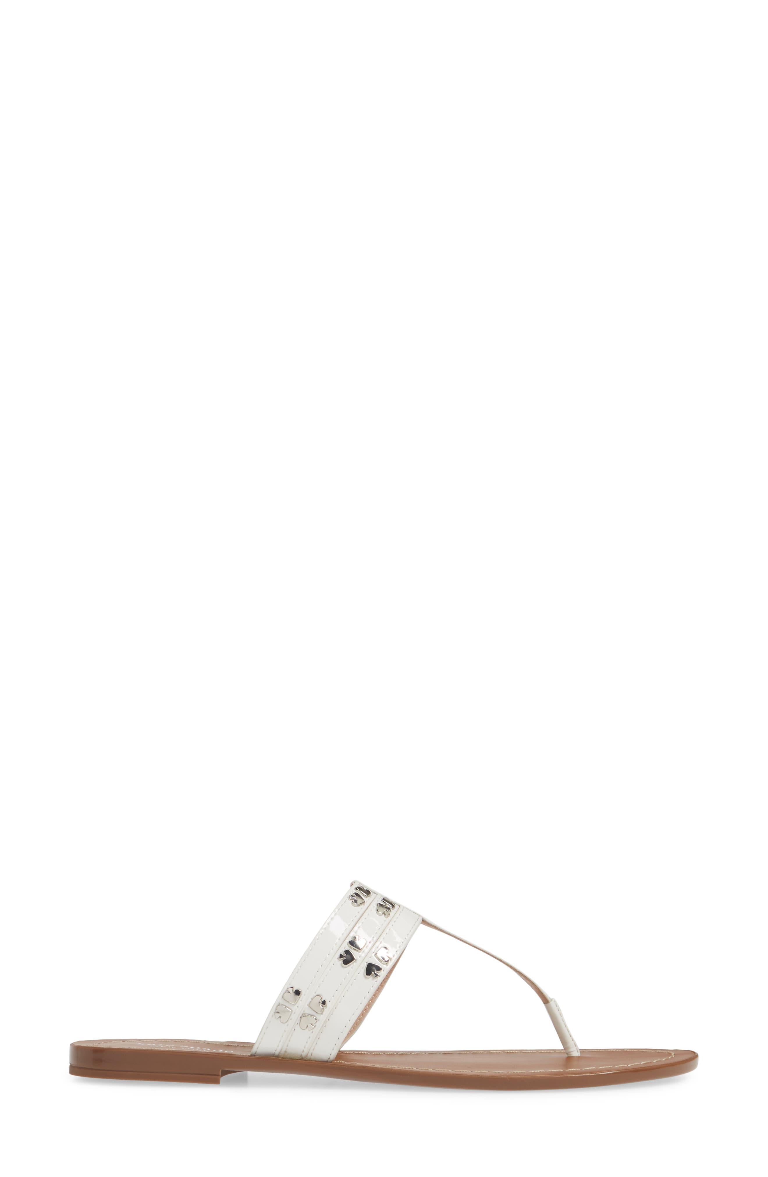 ,                             carol sandal,                             Alternate thumbnail 3, color,                             WHITE