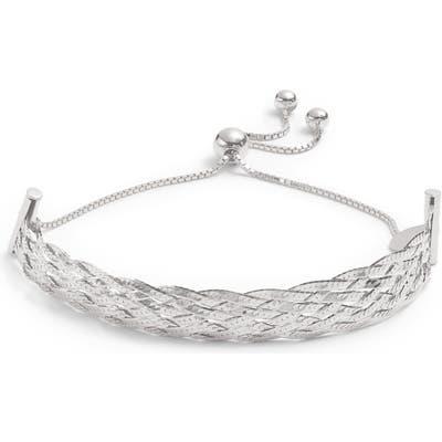 Argento Vivo Lace Knot Adjustable Bracelet