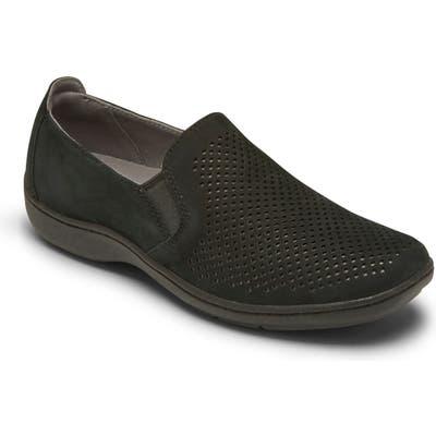 Aravon Lia Slip-On Sneaker B - Black