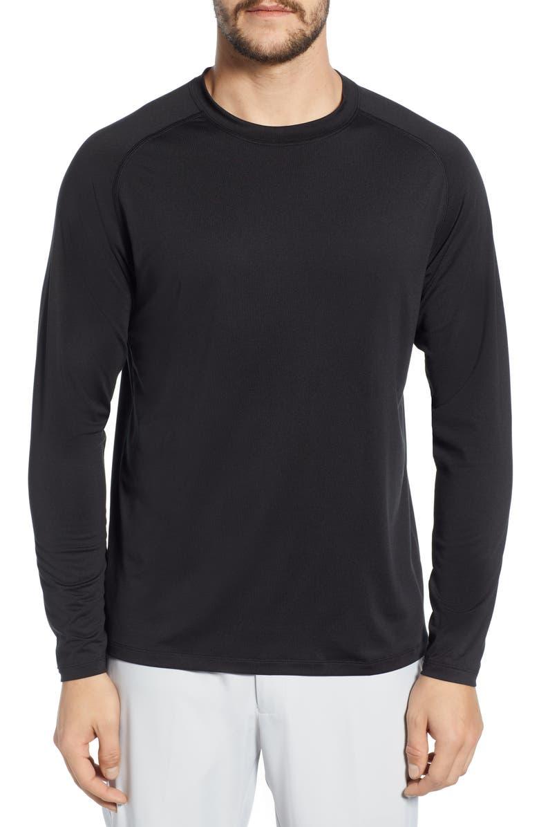 PETER MILLAR Rio Technical T-Shirt, Main, color, 001