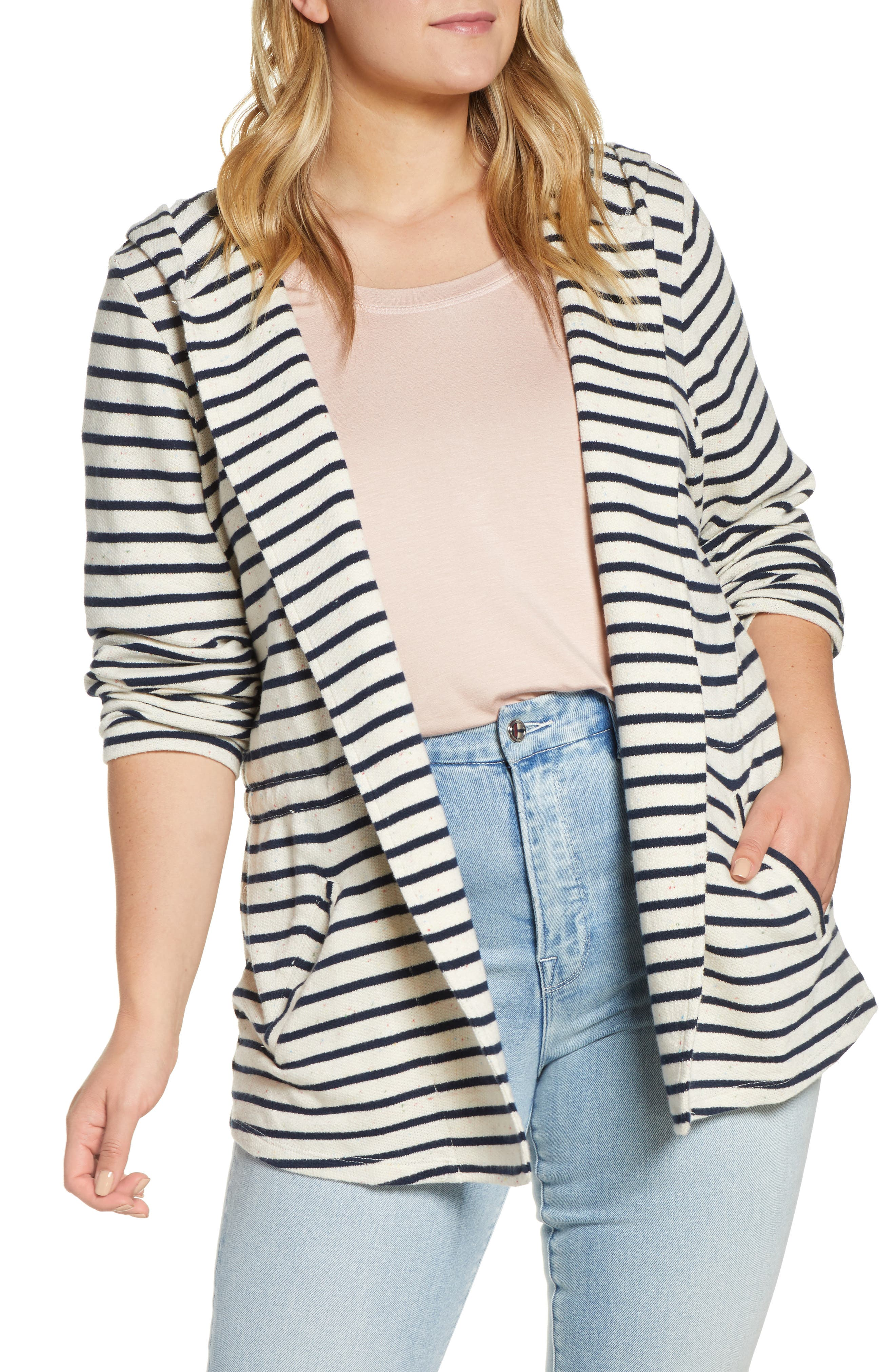 ,                             Open Front Hooded Cardigan,                             Alternate thumbnail 34, color,                             900
