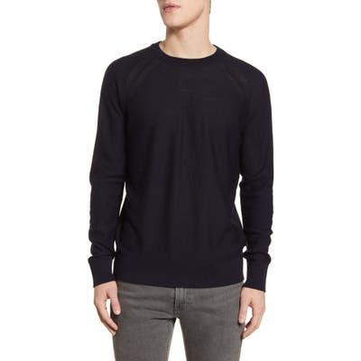 Scotch & Soda Crewneck Merino Wool Sweater, Blue