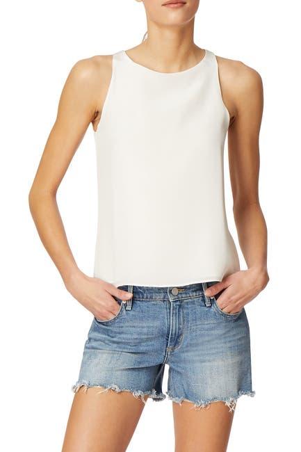 Image of Habitual Nyssa Cross Back Silk Tank Top
