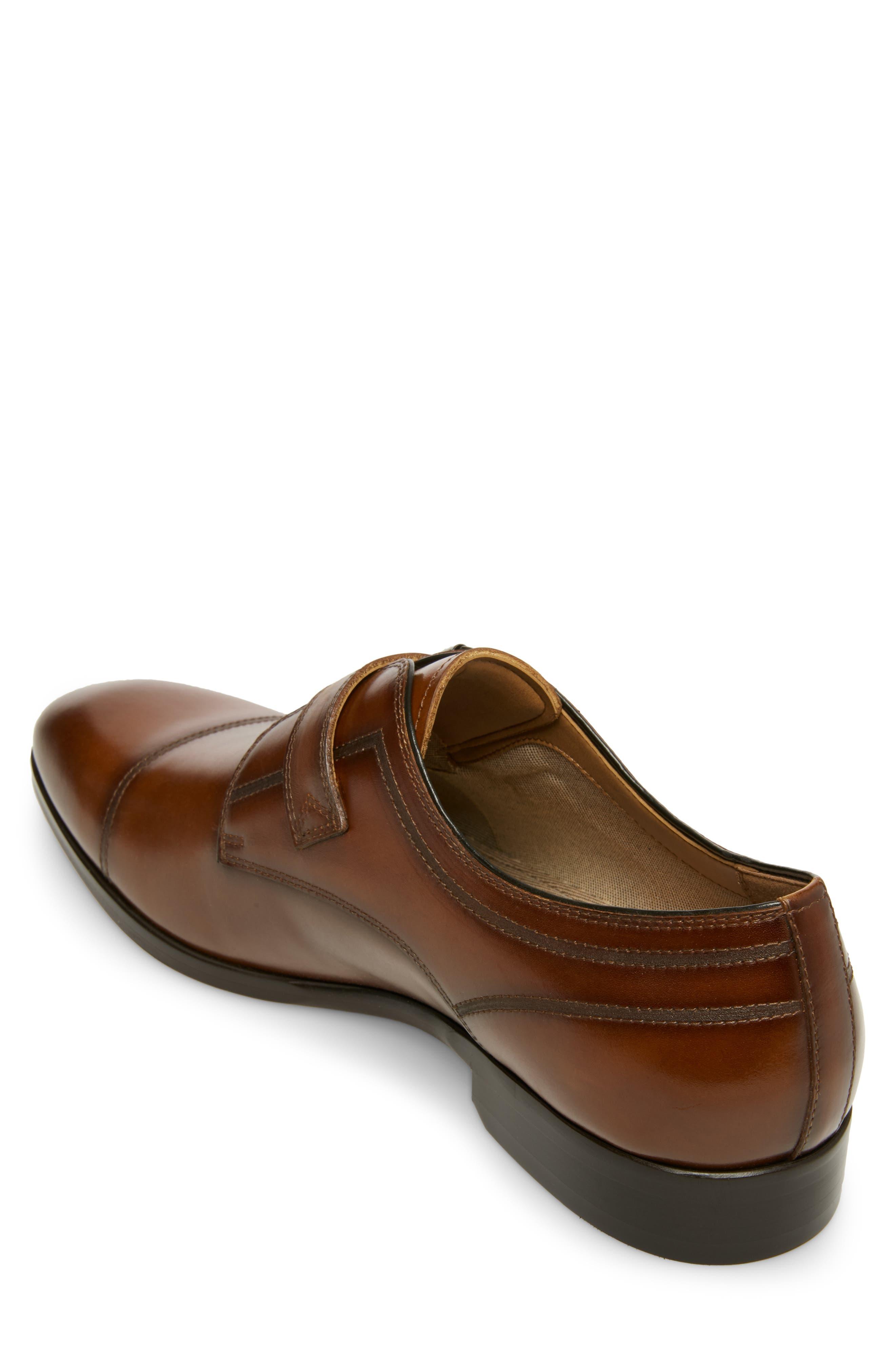 ,                             Covet Monk Strap Shoe,                             Alternate thumbnail 2, color,                             COGNAC LEATHER