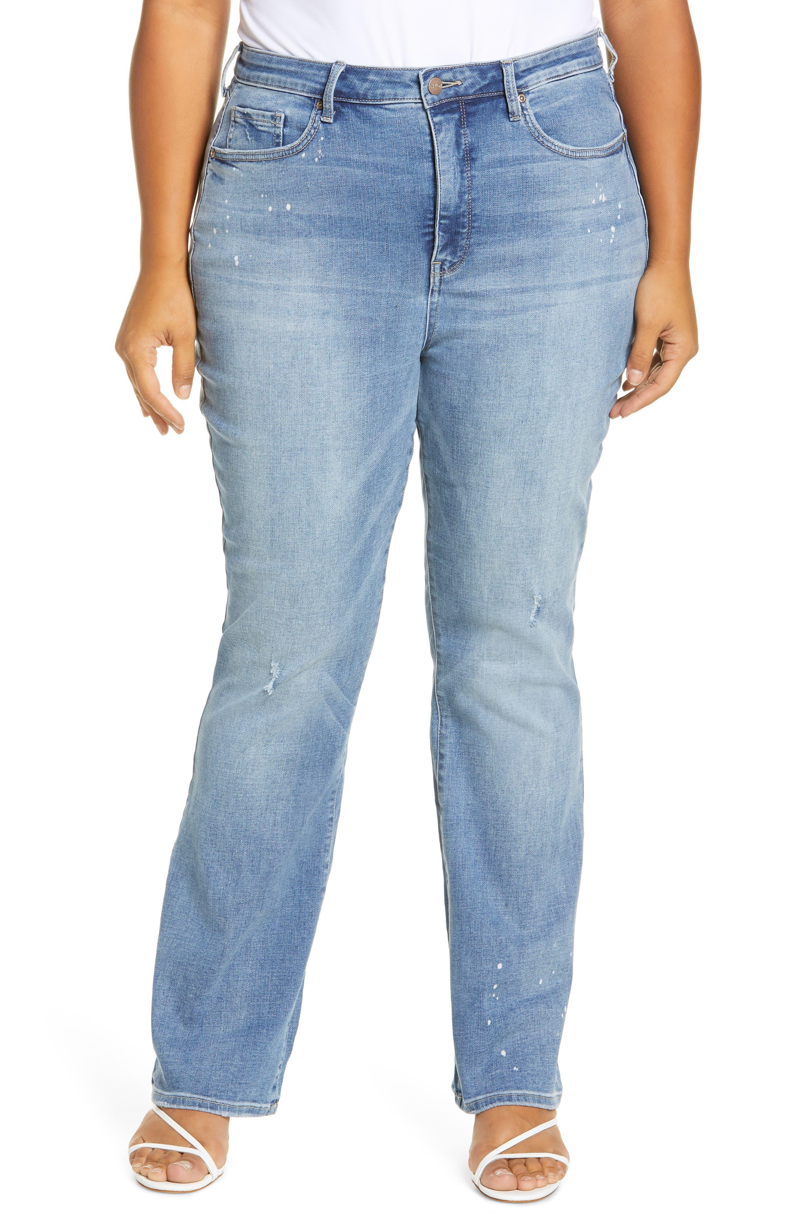 NYDJ Slim Bootcut Jeans (Sandspur) (Plus Size) | Nordstrom