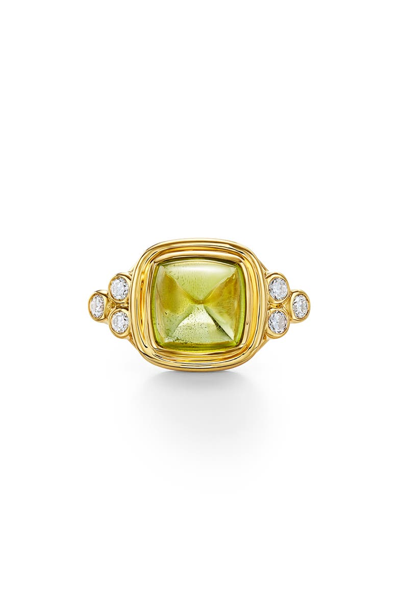 TEMPLE ST. CLAIR Classic Sugar Loaf Ring, Main, color, PERIDOT
