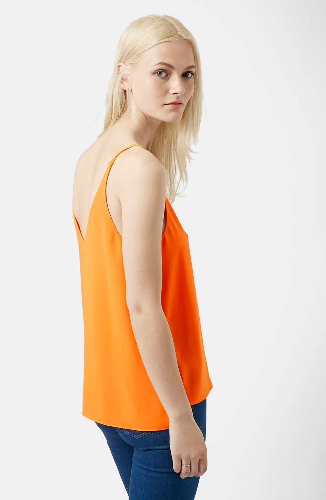 ,                             Strappy V-Neck Camisole,                             Alternate thumbnail 79, color,                             800