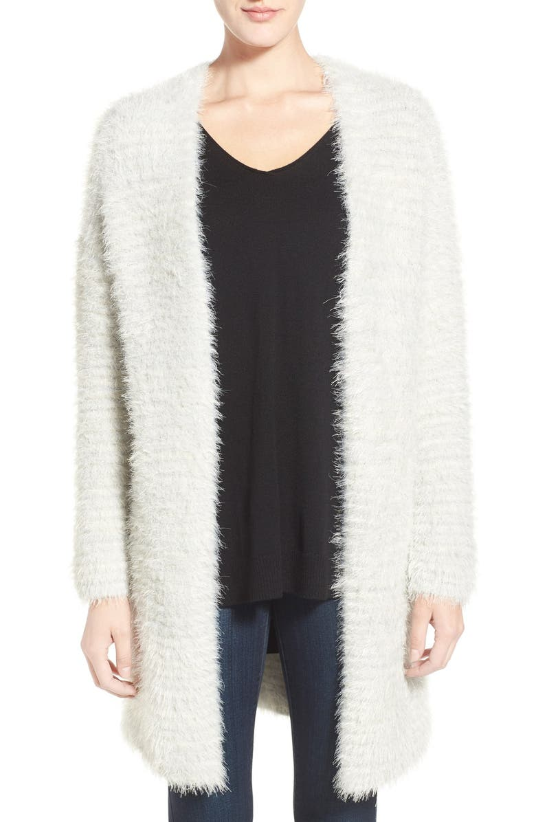 CHELSEA28 'Texture Fluff' Cardigan, Main, color, 020