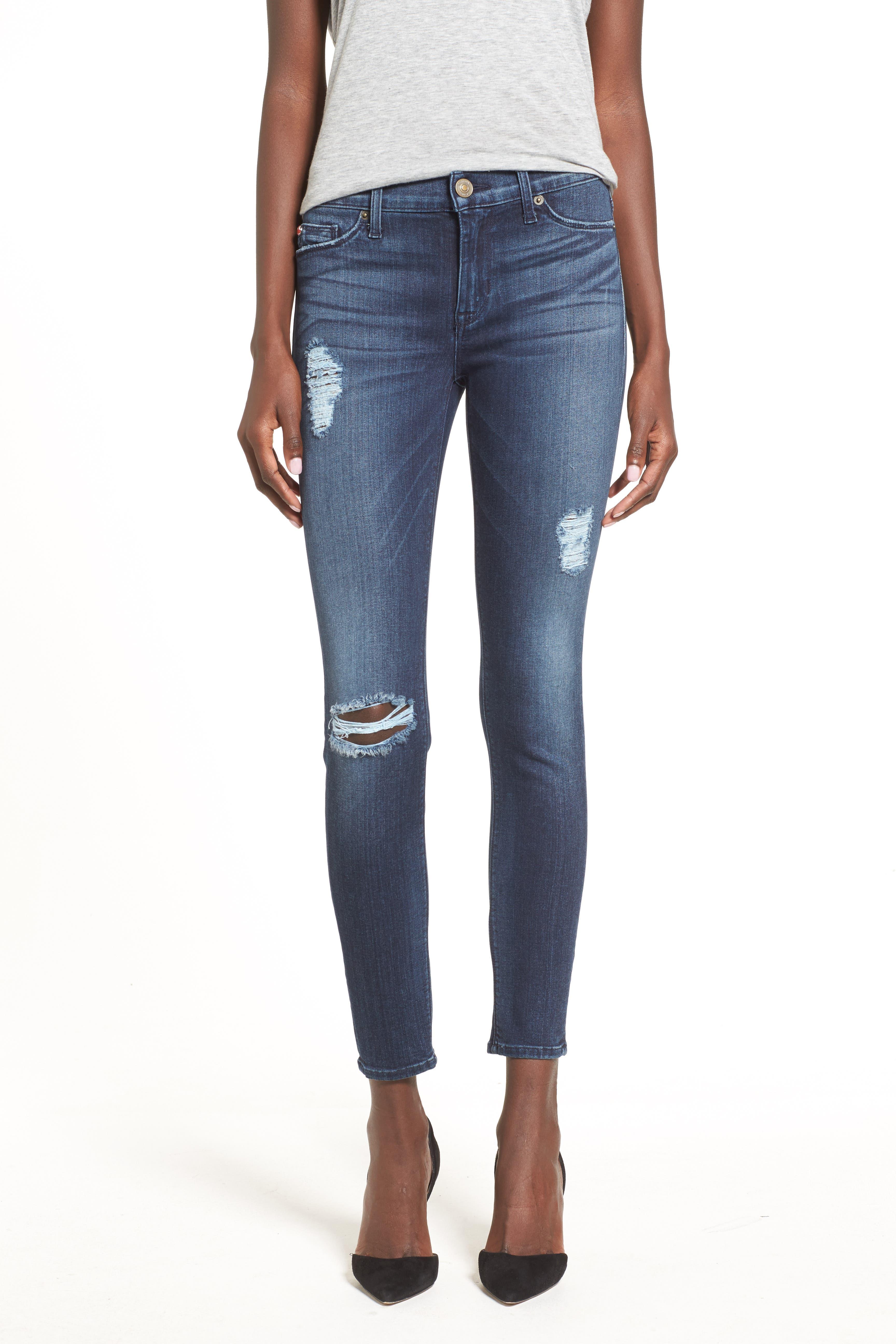 ,                             'Nico' Ankle Super Skinny Jeans,                             Alternate thumbnail 9, color,                             401