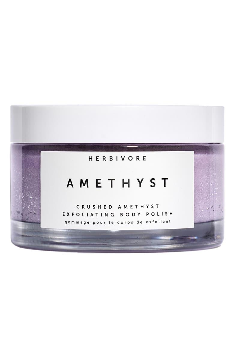 HERBIVORE BOTANICALS Amethyst Exfoliating Body Polish, Main, color, NO COLOR