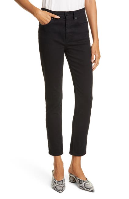 Image of Rebecca Taylor Ines Slim Fit Ankle Jeans