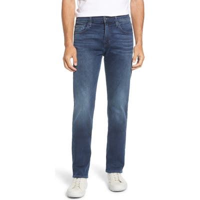 7 For All Mankind Luxe Performance Slim Straight Leg Jeans, Blue
