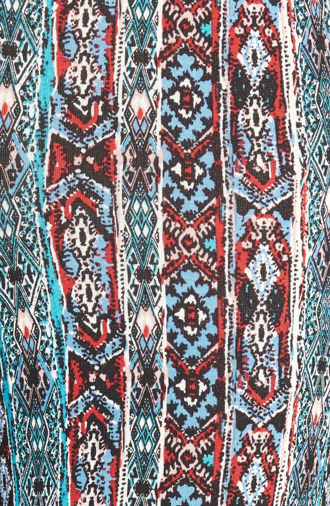 ,                             Mixed Print Flare Leg Pants,                             Alternate thumbnail 70, color,                             300