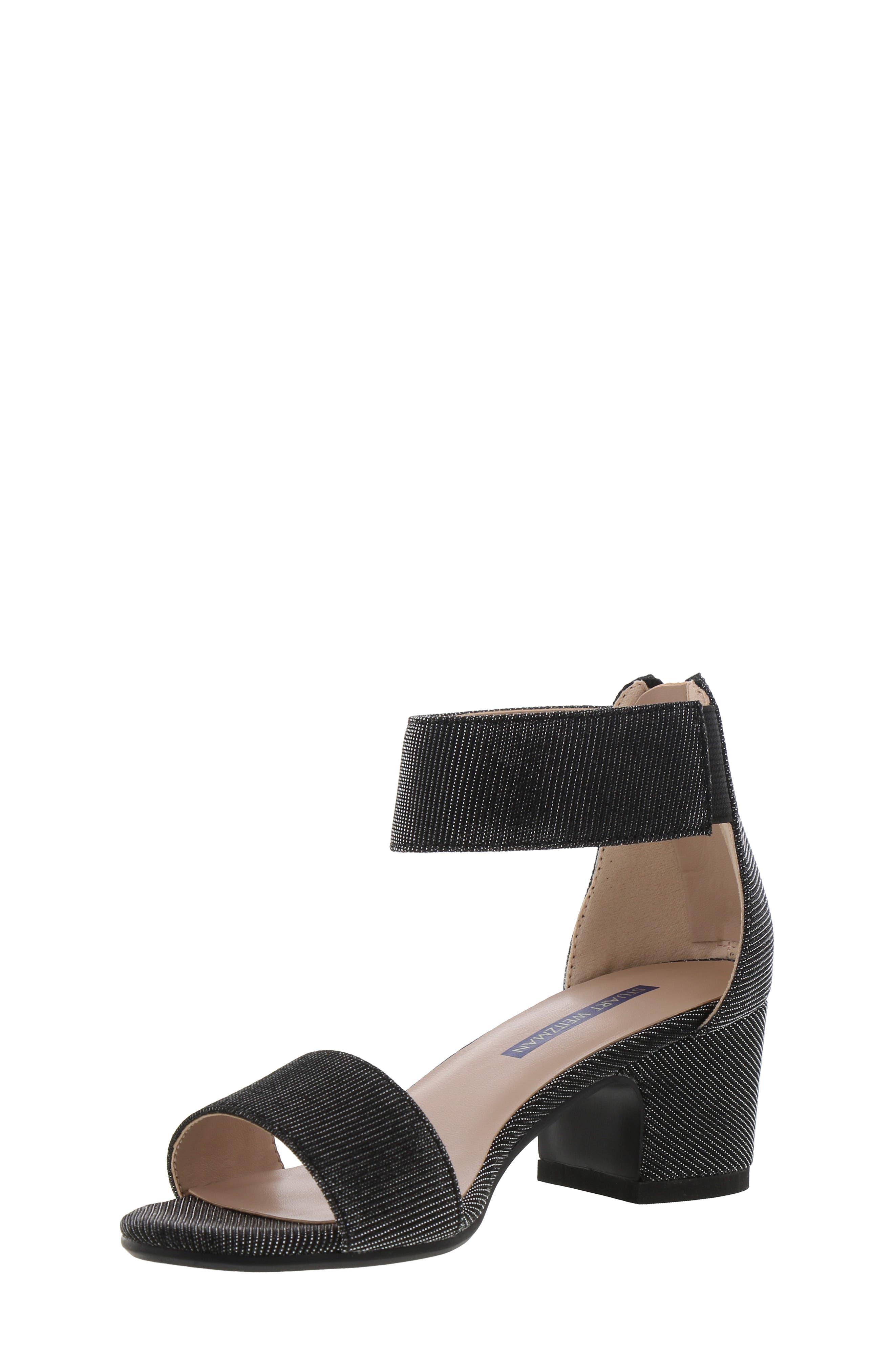 ,                             Rosalyn Alexa Sparkle Sandal,                             Alternate thumbnail 9, color,                             BLACK