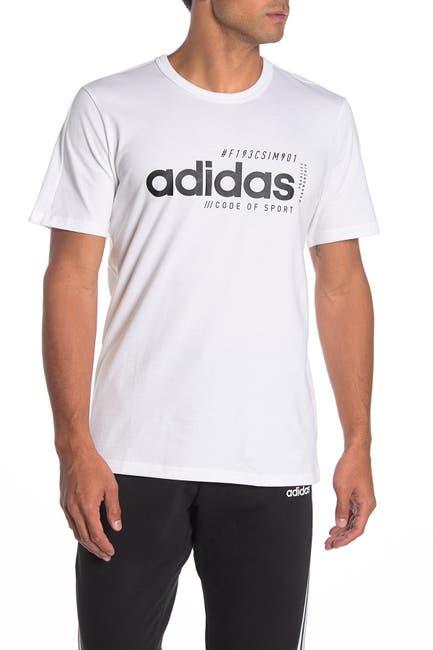 Image of adidas Brilliant Basics Crew Neck T-Shirt