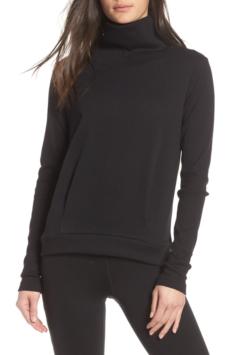 ALO Clarity Long Sleeve Sweatshirt, Main, color, 017