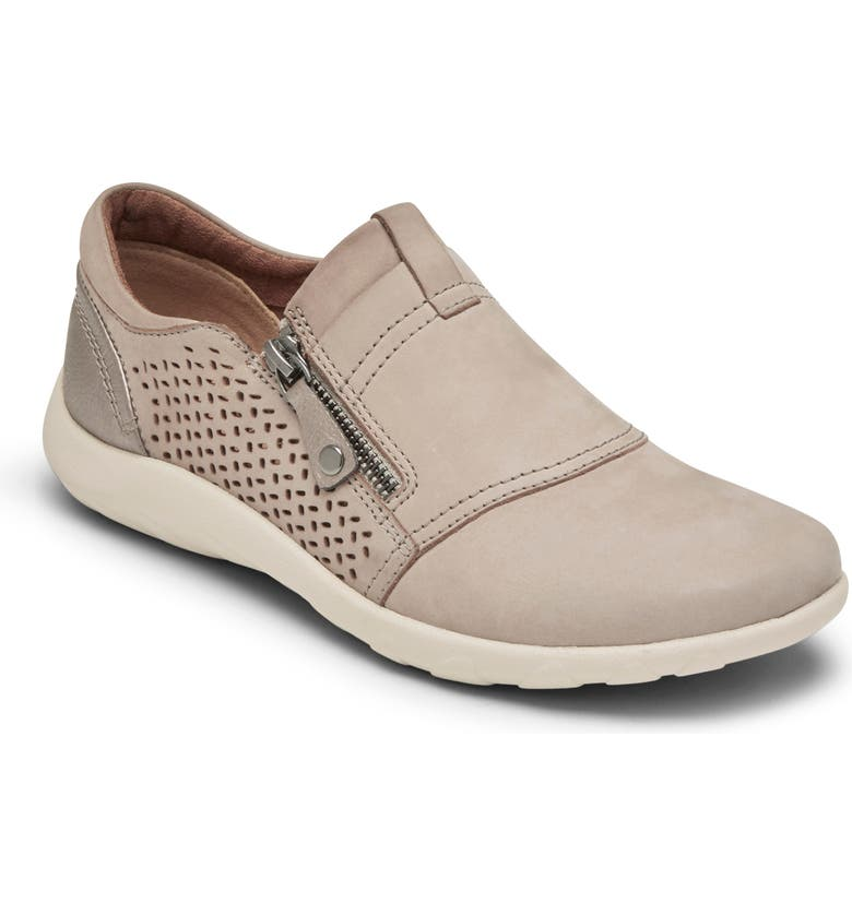 ROCKPORT COBB HILL Amalie Slip-On, Main, color, TAUPE/ GREY