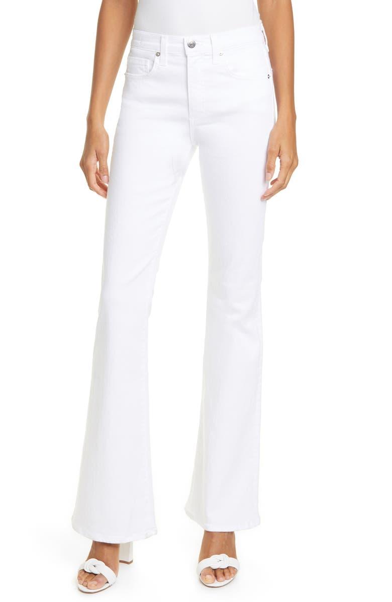 VERONICA BEARD Beverly High Waist Skinny Flare Jeans, Main, color, 900
