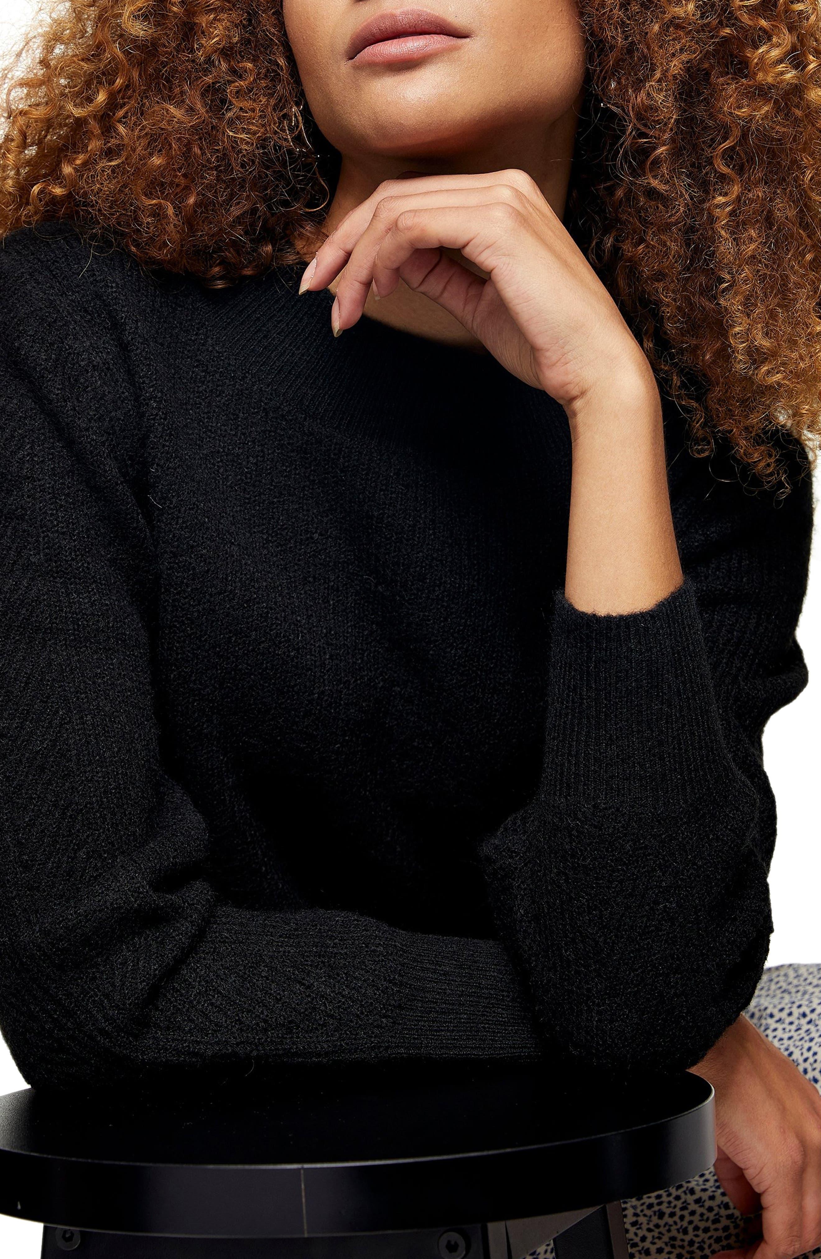 Image of TOPSHOP Boatneck Sweater