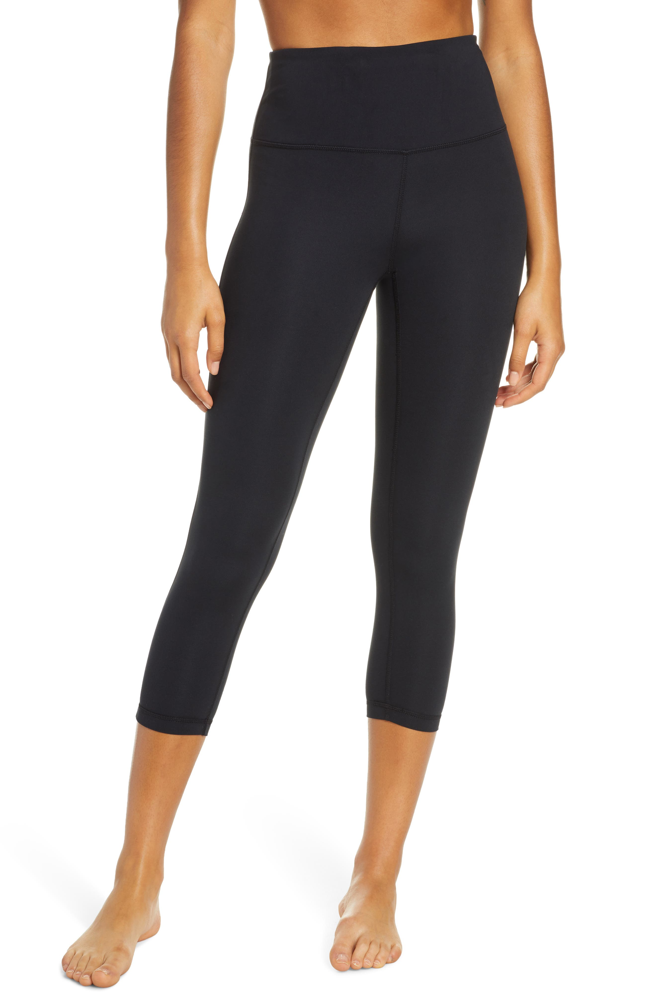 Zella Studio Lite High Waist Crop Leggings