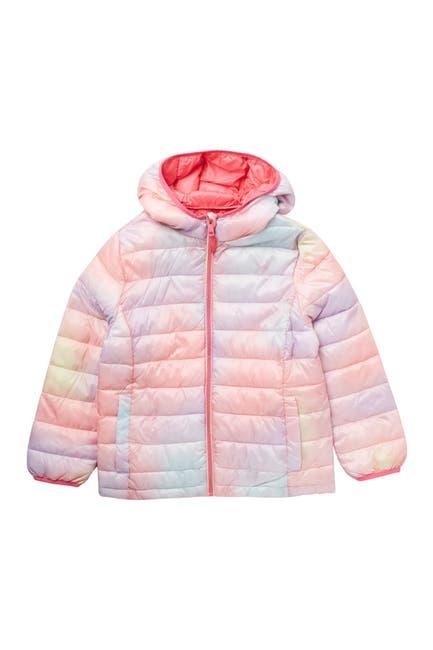 Image of Urban Republic Tie Dye Packable Puffer Jacket