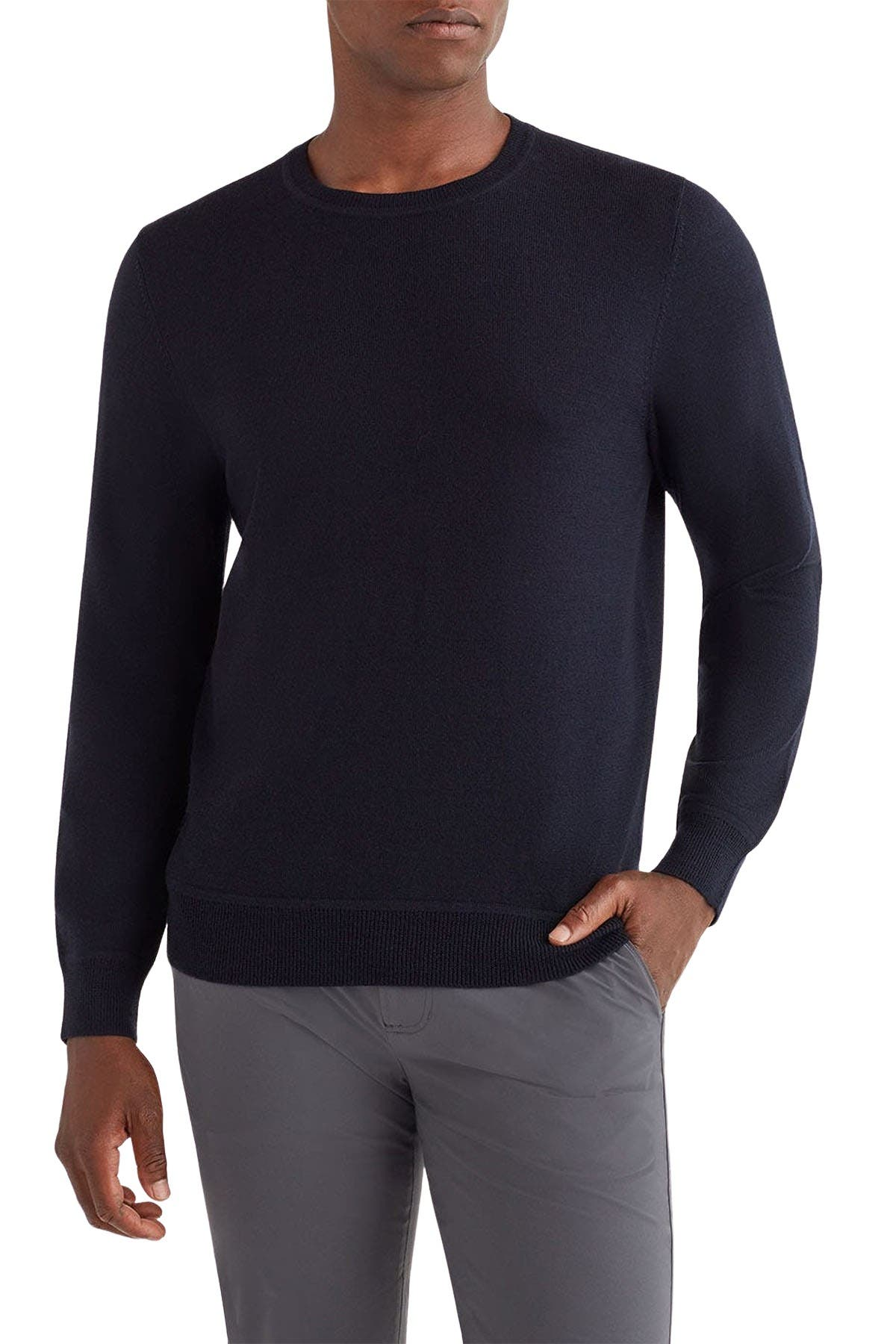 Image of 7 For All Mankind Crew Neck Merino Wool Sweater