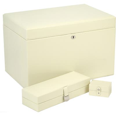 Wolf London Large Jewelry Box - Ivory