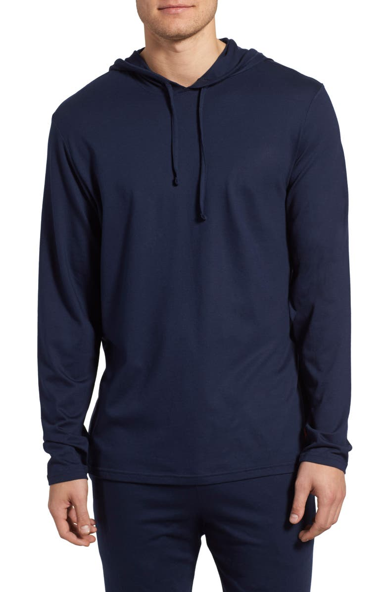 POLO RALPH LAUREN Pullover Hoodie, Main, color, CRUISE NAVY
