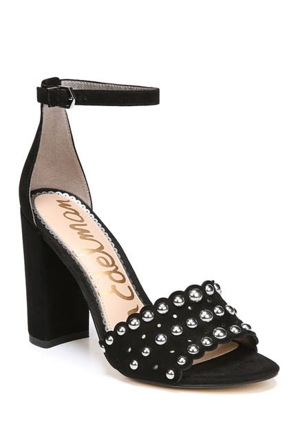 Image of Sam Edelman Yaria Studded Block Heel Sandal
