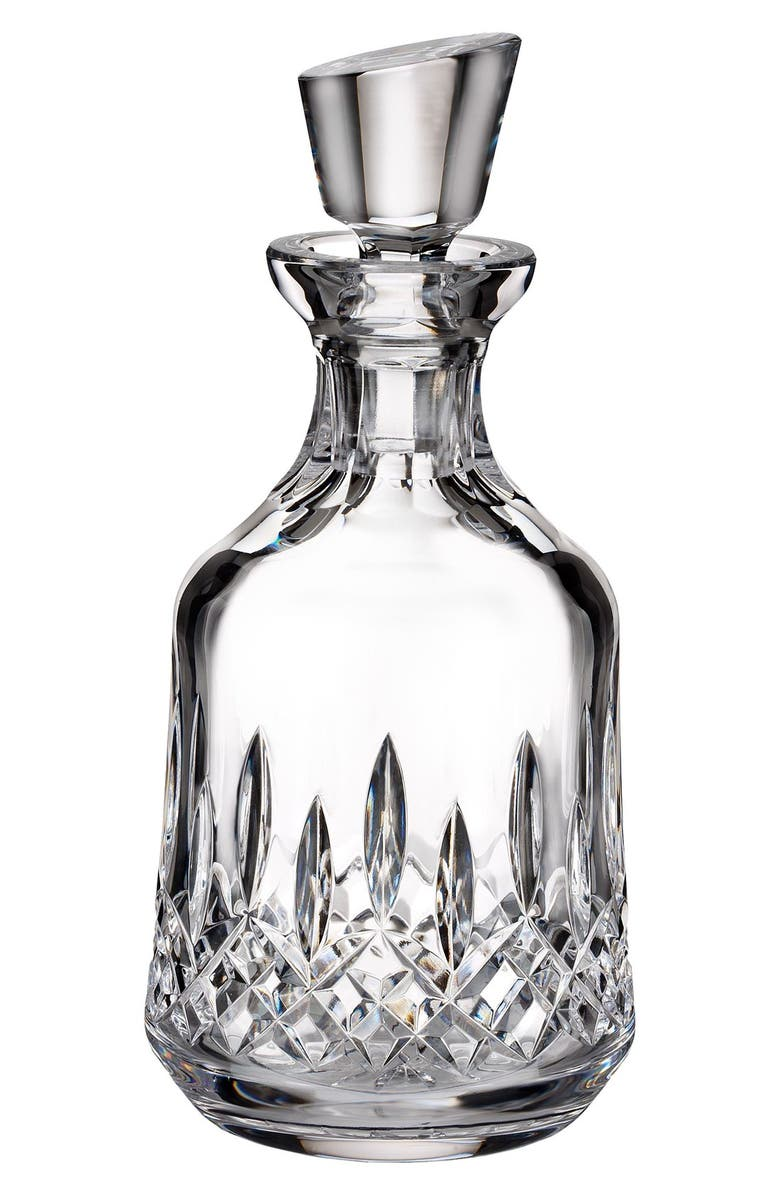 WATERFORD 'Lismore' Lead Crystal Decanter & Stopper, Main, color, CLEAR