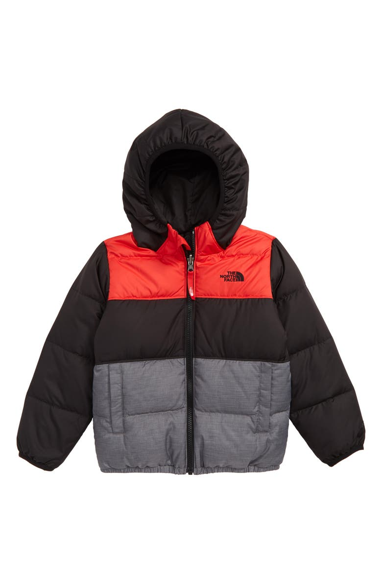 'Moondoggy' Water Repellent Reversible Down Jacket