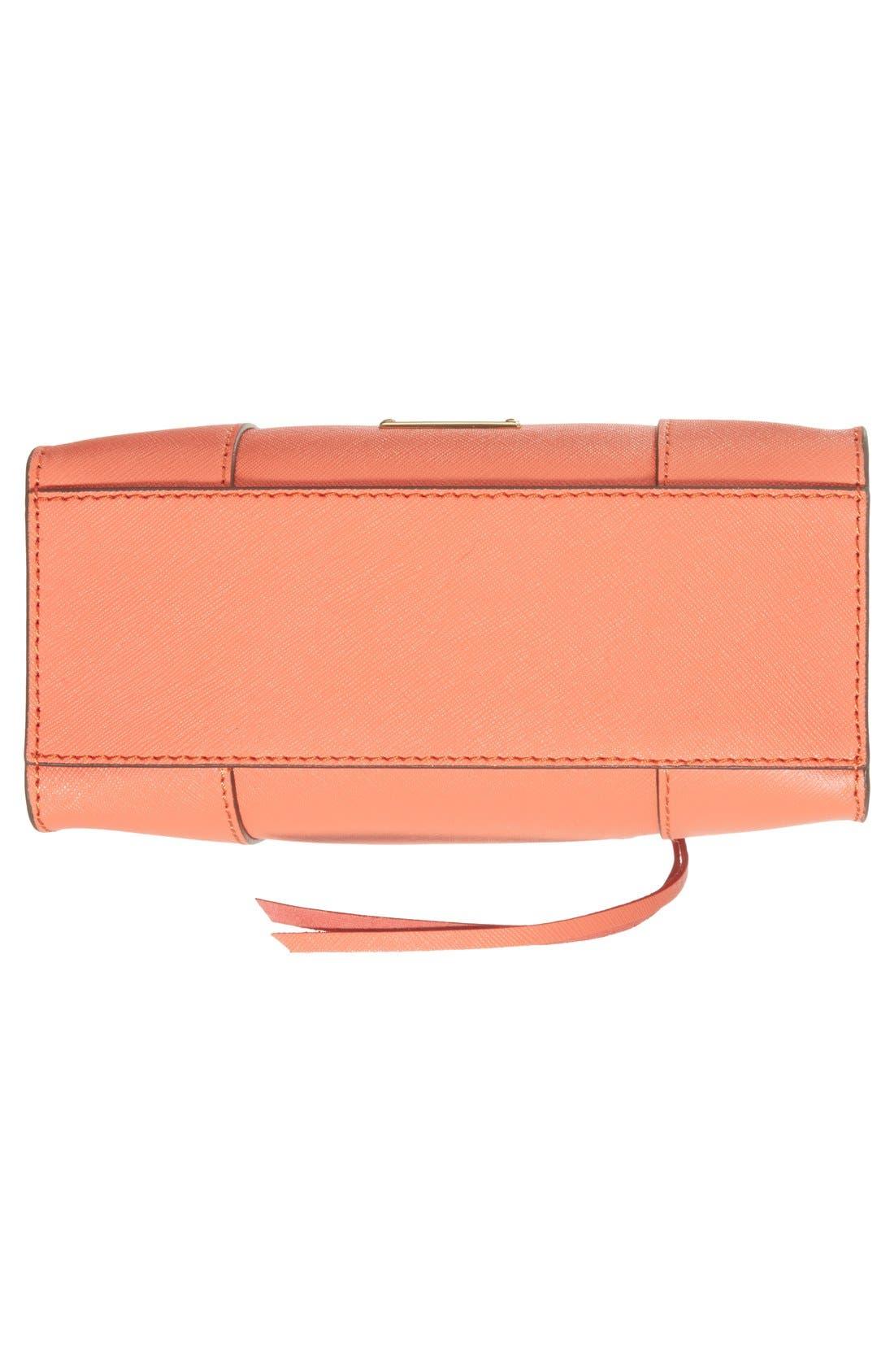 ,                             'Mini MAB Tote' Crossbody Bag,                             Alternate thumbnail 138, color,                             801