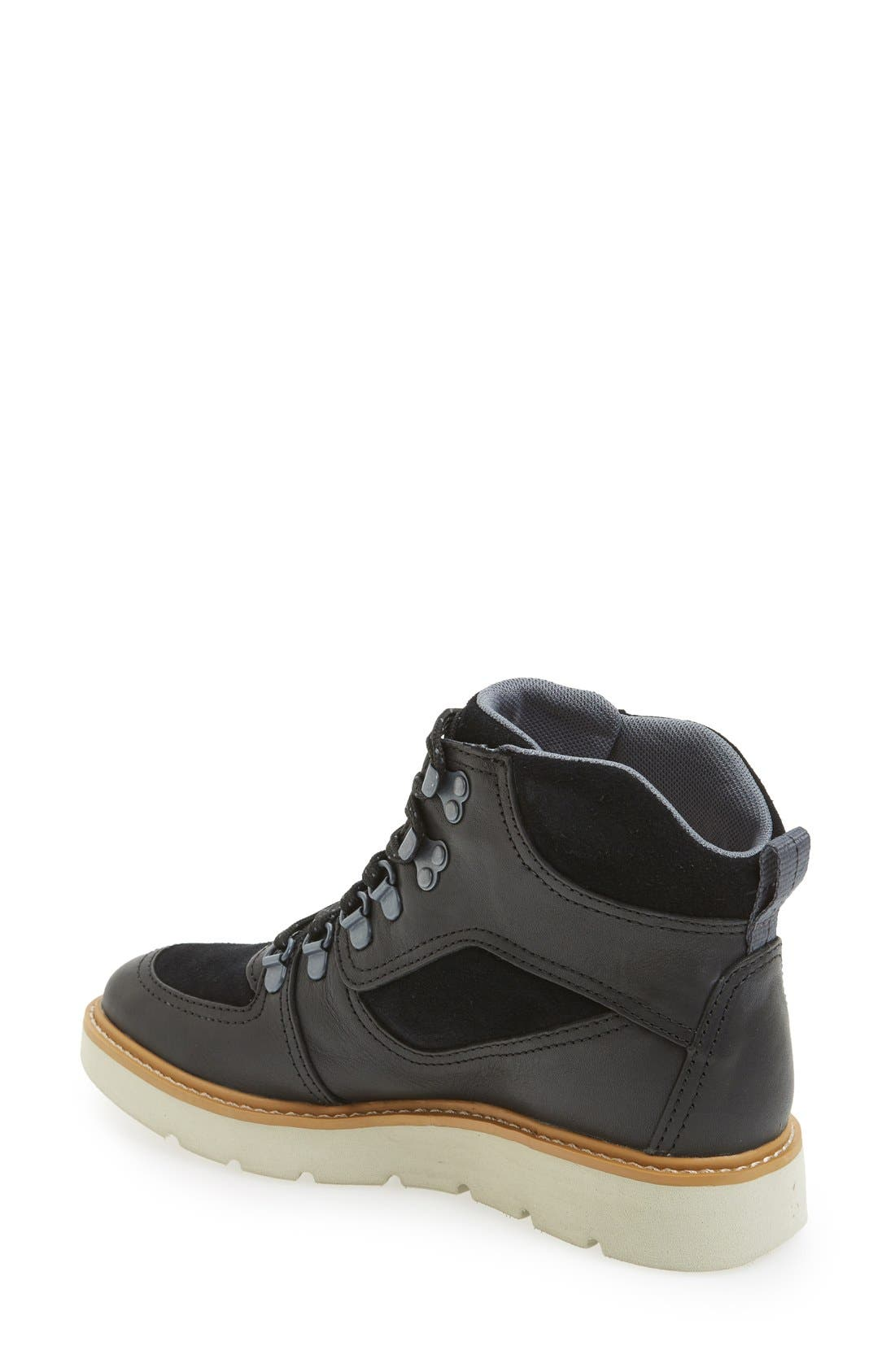 ,                             'Kenniston' Lace-Up Boot,                             Alternate thumbnail 2, color,                             001