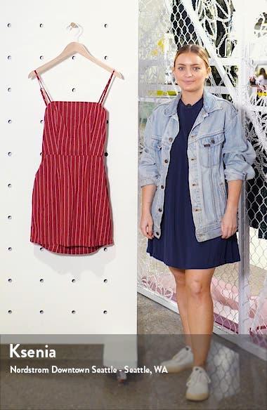 Thursday Stripe Cotton Minidress, sales video thumbnail