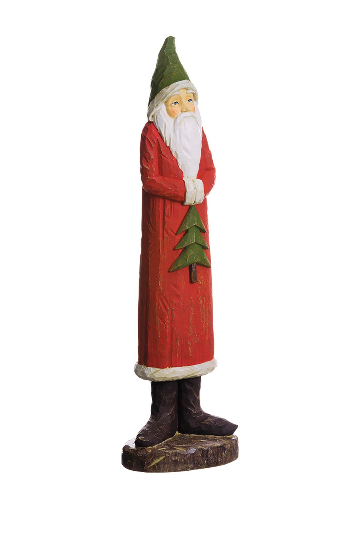 """Image of ALLSTATE 18.5"""" Santa Holding A Tree"""
