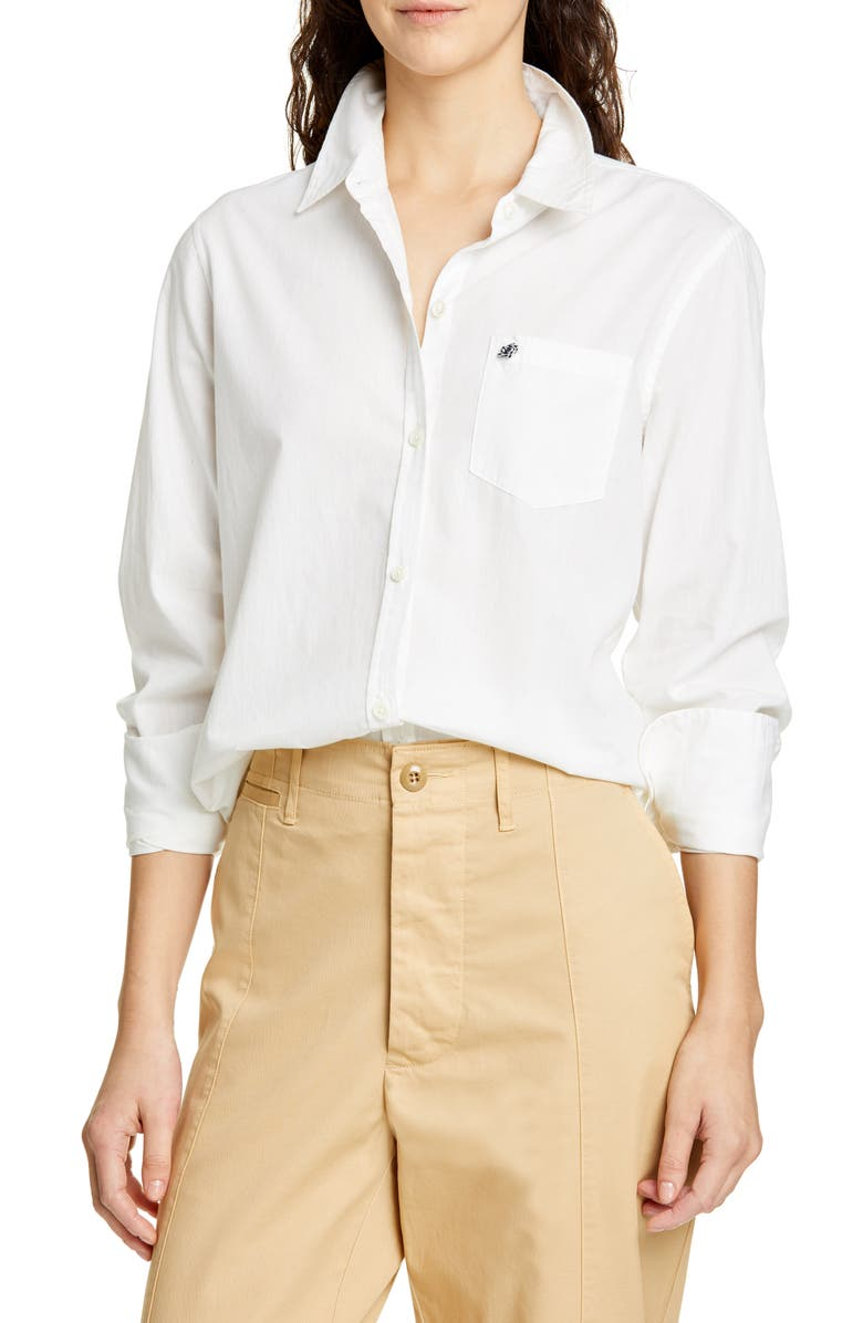 ALEX MILL Standard Shore Shirt, Main, color, 100