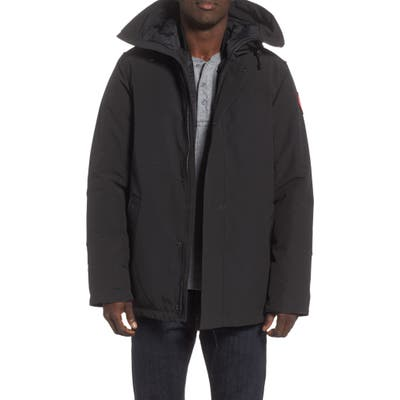 Canada Goose Garibaldi Slim Fit 3-In-1 Parka, Black