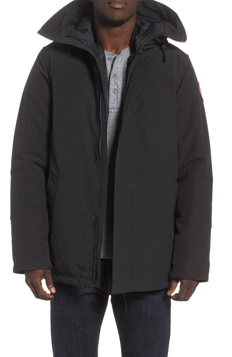 CANADA GOOSE Garibaldi Slim Fit 3-in-1 Parka, Main, color, BLACK
