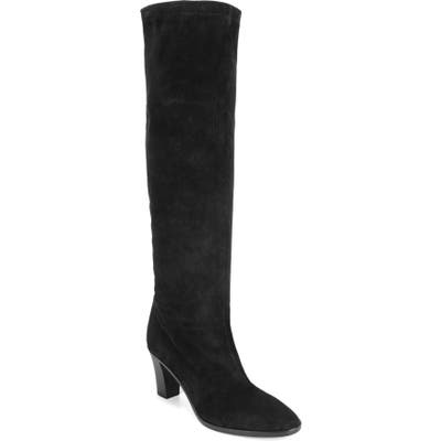 Vince Casper Knee High Pull-On Boot, Black