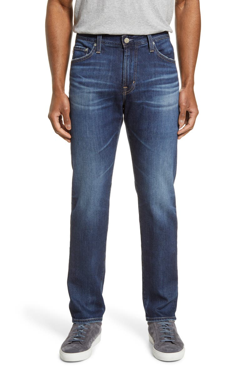 AG Everett Slim Straight Leg Jeans, Main, color, 8 YEARS ENERGY