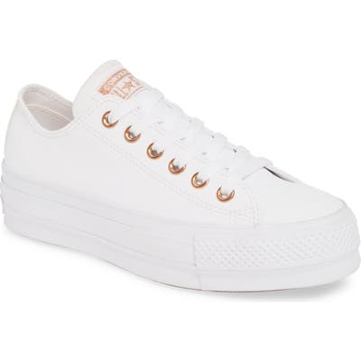 Converse Chuck Taylor All Star Lift Sneaker, White