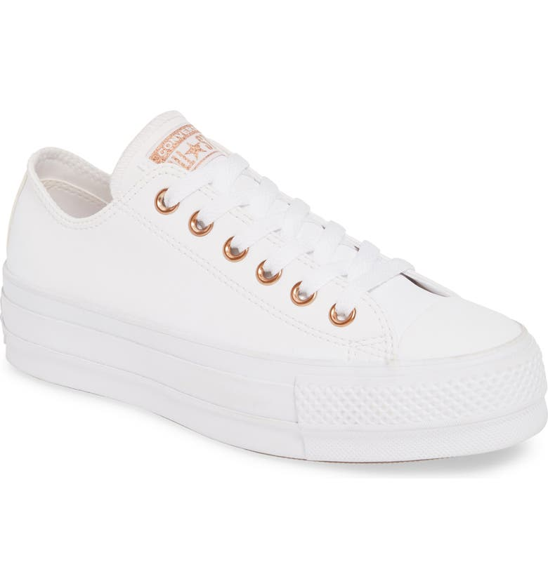 CONVERSE Chuck Taylor<sup>®</sup> All Star<sup>®</sup> Lift Sneaker, Main, color, 102