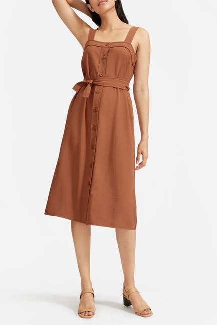 Image of EVERLANE The Japanese Goweave Picnic Dress