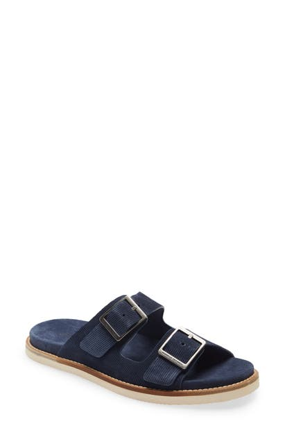 Brunello Cucinelli BUCKLE SLIDE SANDAL