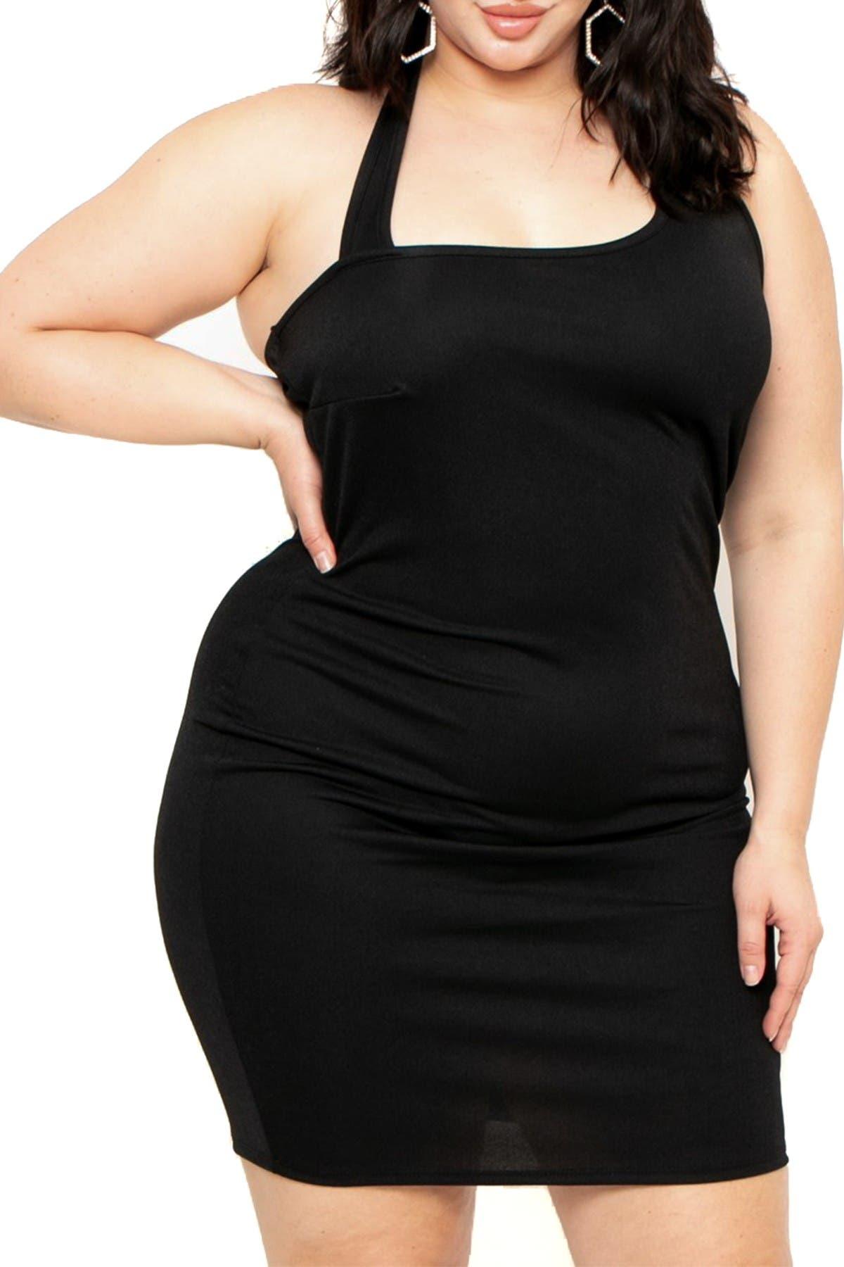 Curvy Sense Sadie Halter Dress