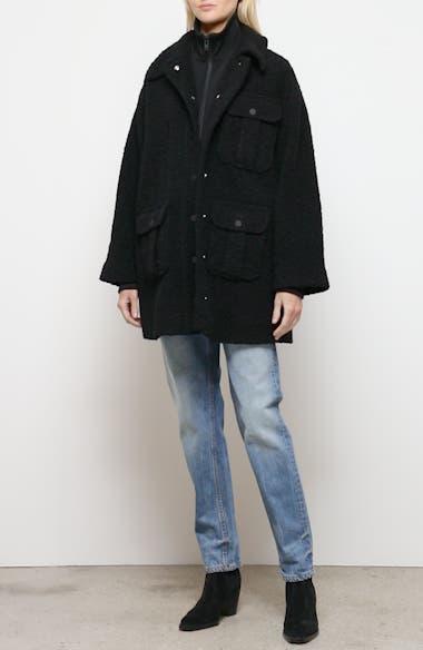 Short Bouclé Coat, video thumbnail