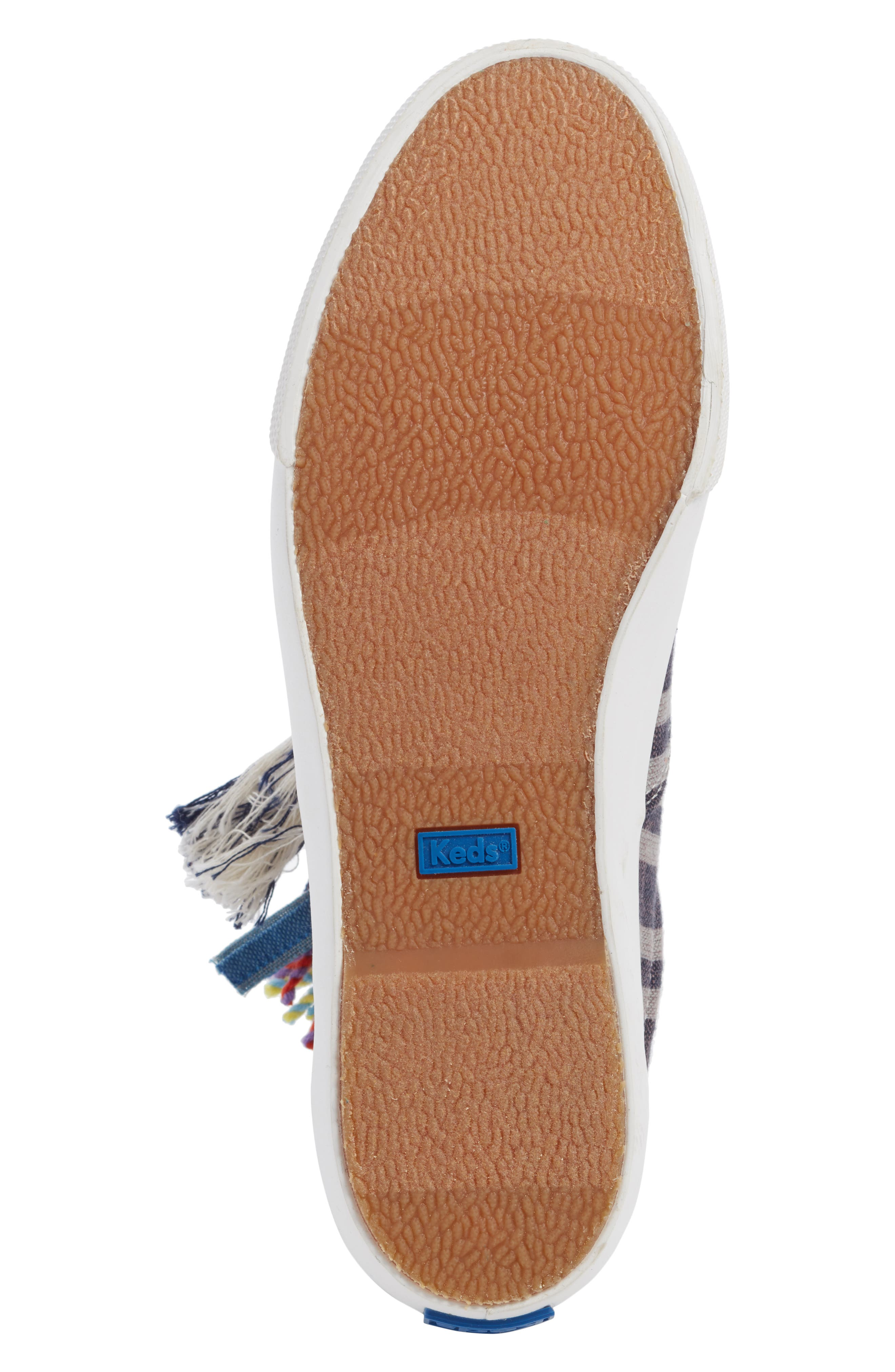 ,                             Keds x Ace & Jig Anchor Channel Sneaker,                             Alternate thumbnail 6, color,                             BLACK MULTI